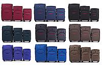 Комплект дорожных чемоданов на 4-х колесах WINGS 1708 из ткани CODURA 1200D 3 в 1, фото 1
