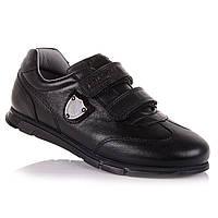 Кожаные кроссовки на липучках в школу для мальчиков Tutubi 11.2.240 (26-40)
