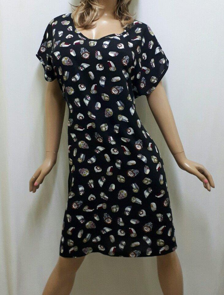 Платье штапельное с карманами и поясом, размеры от 48 до 54, Харьков