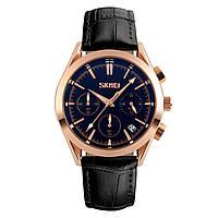 Skmei 9127  prestige черные мужские классические часы, фото 1