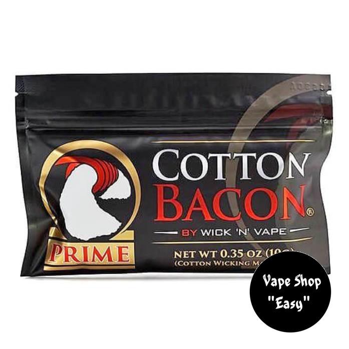 Cotton Bacon Prime Органический хлопок, вата для электронных сигарет. (Clone)