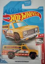 Машинка Hot Wheels 2019 HW Rapid Responder