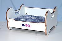 Лежак деревянный для собак BePet-Gold, фото 1