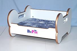 Лежак деревянный для собак BePet-Gold