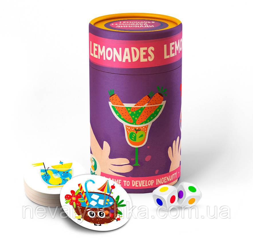 Настольная Игра Лимонады (Фишки) Лимонады в тубусе Гра карткова ДоДо DoDo lemonades 300208 011077