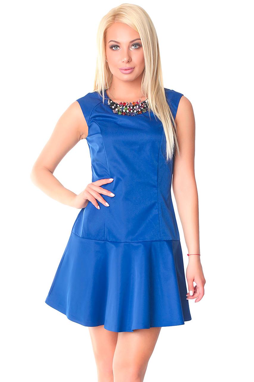 Модные молодежные платья (в расцветках 40-44)