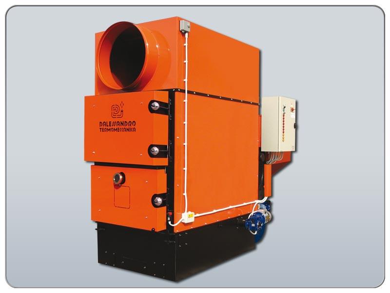 Пеллетный генератор теплого воздуха GS 230 kW