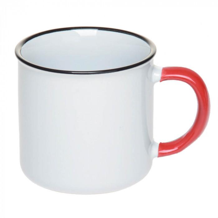 Чашка керамическая с ободком 305 мл, розница + опт \ es - 882002