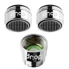 🎁Набор аэраторов насадок для экономии воды DROP PM2+1 (2 водосберегающих аэратора + 1 насадка для душа)