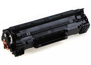 Картридж HP 85A (CE285A), Black, LJ P1102/M1132/M1212/M1214/M1217, ресурс 1600 листов, Patron Green, фото 3