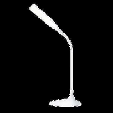 Лампа настольная Maxus LED DKL 6W, 1-DKL-001-01 Square, светильник светодиодный, фото 2