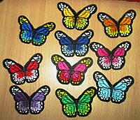 """Красивая  нашивка """"Бабочка""""  от студии LadyStyle.Biz, фото 1"""