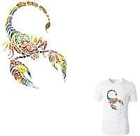 "Термонаклейка на одежду ""Скорпион""   от студии LadyStyle.Biz, фото 1"