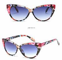 Очки солнцезащитные  цветные от студии LadyStyle.Biz