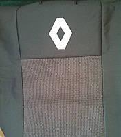 Чехлы на сиденья (budget) Renault Kangoo (Рено Кенго) (деленная спинка и сиденье) с 1998-2008