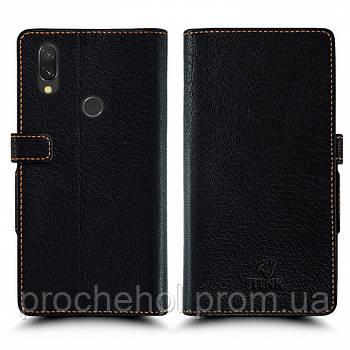 Чехол книжка Stenk Wallet для Xiaomi Redmi 7 Чёрный