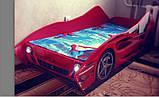 """Дитяче ліжко-машинка """"Феррарі"""", фото 2"""