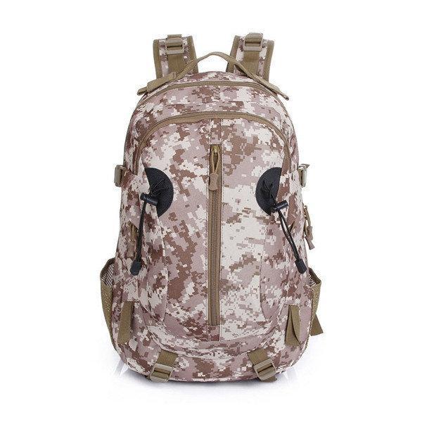 Тактический штурмовой военный туристический рюкзак PROTECTOR PLUS S412 35 л Песок пиксел