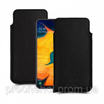 Футляр Stenk Elegance для Samsung Galaxy A30 Чёрный