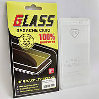 Защитное стекло XIAOMI Redmi 6/6A (0.3 мм, 2.5D, с олеофобным покрытием) white Сяоми Ксиоми Редми 6, 6А