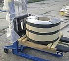 Нержавеющая полоса ( пр-ва Германии ) 0,2мм*398мм материал: 1,4310 (AISI 301, 12Х18Н9 ) нагартованная