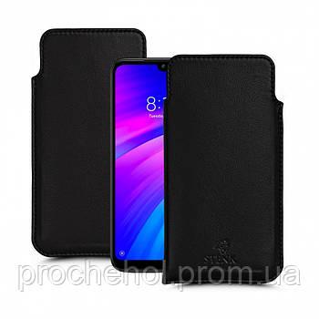 Футляр Stenk Elegance для Xiaomi Redmi 7 Чёрный