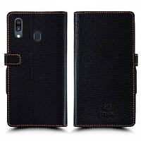 Чехол книжка Stenk Wallet для Samsung Galaxy A30 Чёрный (62961)