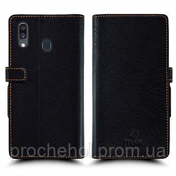 Чехол книжка Stenk Wallet для Samsung Galaxy A30 Чёрный