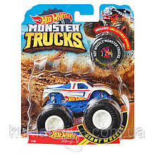 Машинка Хот Вилс Монстер Трак Hot Wheels Monster Trucks Die-Cast Vehicle в ассорт.