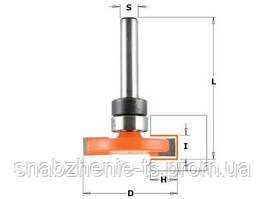 Фреза для прямых боковых пазов 31,75 x 6,35 x 47,6 мм, хвостовик 6,35 мм CMT