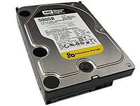 "Жесткий диск для компьютера 3.5"" 500 Гб/Gb Western Digital RE3, SATA2, 16Mb, 7200 rpm (WD5002ABYS), винчестер hdd"