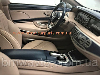 Модель Mercedes-AMG S 63 long-wheelbase, Designo Diamond White Bright, 1:18 Scale, фото 2