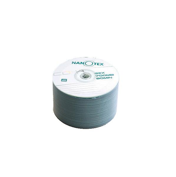 Диски CD-R 50 шт. Nanotex, 700Mb, 52x, Bulk Box