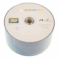 Диски DVD+R 50 шт. Esperanza, 4.7Gb, 16x, Bulk Box