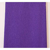 Бумага гофрированная 55% Фиолетовая