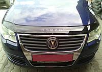 Дефлектор капота (мухобойка) Volkswagen Passat (B6) 2005-2010, фото 1