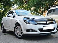 Дефлектор капота (мухобойка) Opel Astra H 2004-