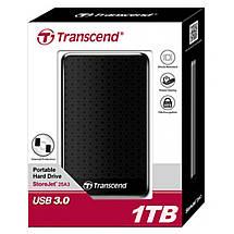 """Внешний жесткий диск 2 Тб/Tb Transcend StoreJet 25A3, Black, 2.5"""", USB 3.0 (TS2TSJ25A3K), фото 3"""