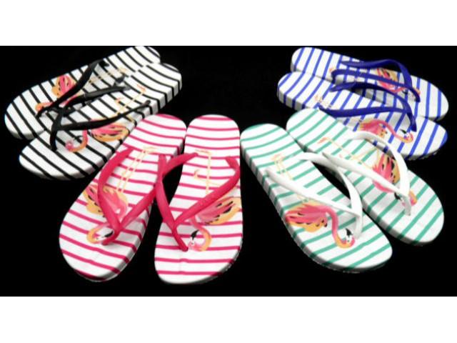 Шлепки * Flamingo 2159 разные расцветки полосы * 21606