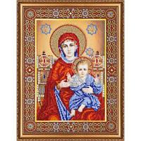 """Набор для вышивки бисером """"Икона Венчальная пара Богородица"""""""