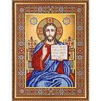 """Набор для вышивки бисером """"Икона Венчальная пара Иисус"""""""