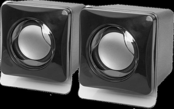 Колонки для компьютера 2.0 Defender SPK-35 2x2.5 W, USB, Black, фото 2