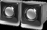 Колонки для компьютера 2.0 Defender SPK-35 2x2.5 W, USB, Black