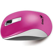 Беспроводная мышка Genius NX-7010 Magenta, 1200 dpi, компьютерная мышь гениус джениус для ПК и ноутбука, фото 2