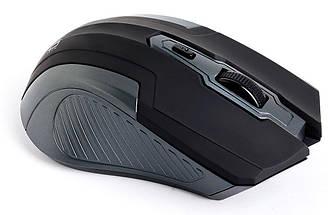 Беспроводная мышка HQ-Tech HQ-WMA26 Black, 1600 dpi, компьютерная мышь для ПК и ноутбука, фото 3