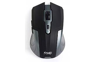 Беспроводная мышка HQ-Tech HQ-WMA26 Black, 1600 dpi, компьютерная мышь для ПК и ноутбука, фото 2