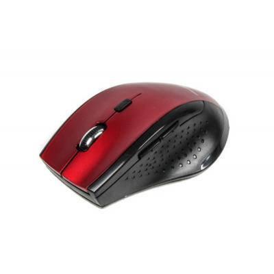Беспроводная мышка Maxxter Mr-311-R, Red, компьютерная мышь макстер для ПК и ноутбука, фото 2
