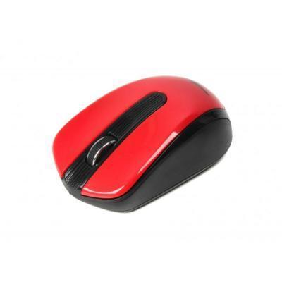 Беспроводная мышка Maxxter Mr-325-R, Red, компьютерная мышь макстер для ПК и ноутбука