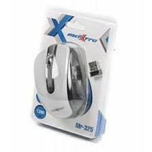 Беспроводная мышка Maxxter Mr-325-W, White, компьютерная мышь макстер для ПК и ноутбука, фото 3