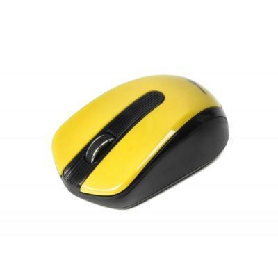 Беспроводная мышка Maxxter Mr-325-Y, Yellow, компьютерная мышь макстер для ПК и ноутбука
